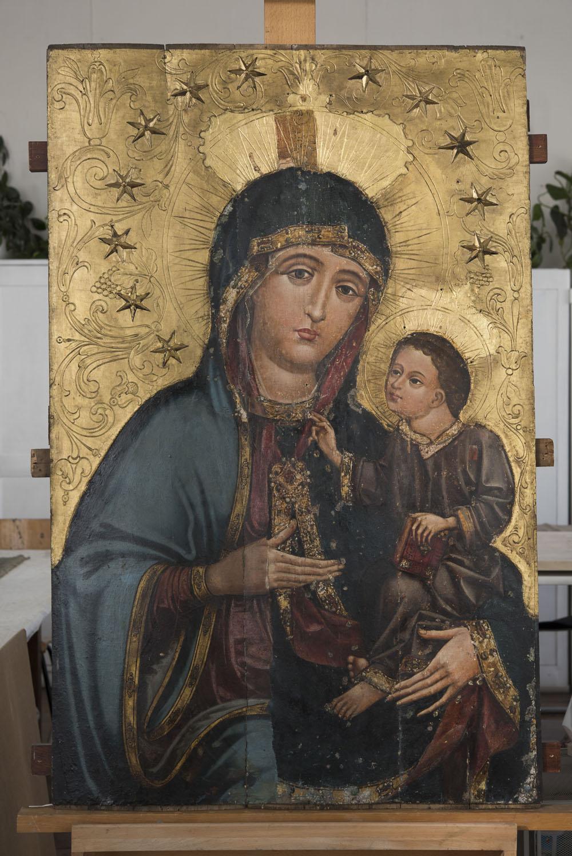 Poważne Gotycka Matka Boska Czaniecka odkrywa swą mistyczną głębię – Diecezja ZI62