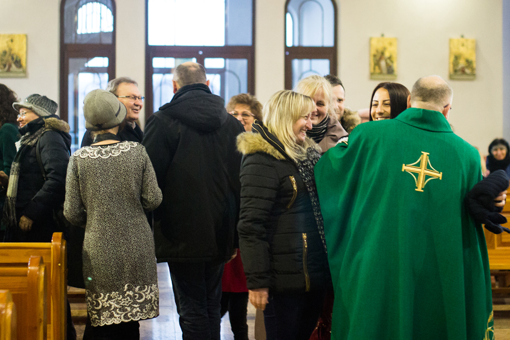 Modlitwa za Ukrainę ze Szkołą Ewangelizacji Cyryl i Metody